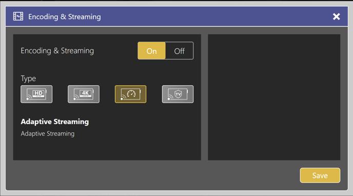 DatabeatOMNI adaptive Streaming