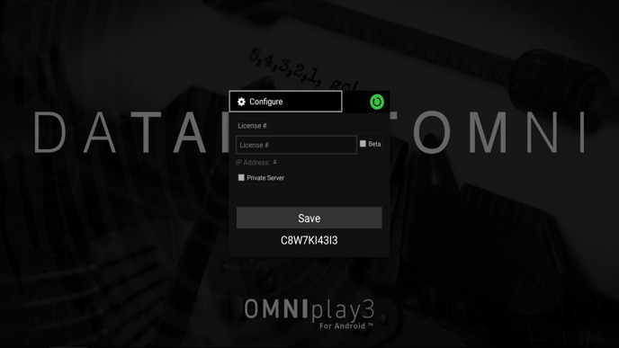 Reboot Icon OMNIplay3