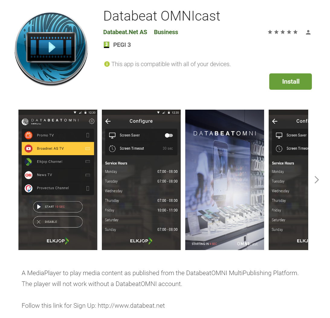 OMNIcast download Google Play