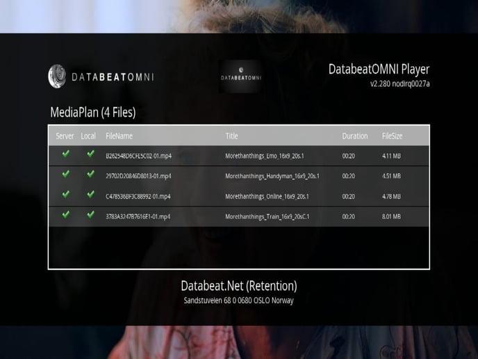 MediaPlan DatabeatOMNI player