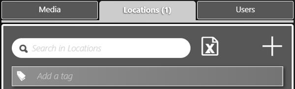 location tap databeatomni