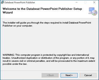 powerpoint publiser setup