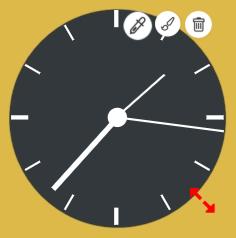 Analog Clock Design Icons