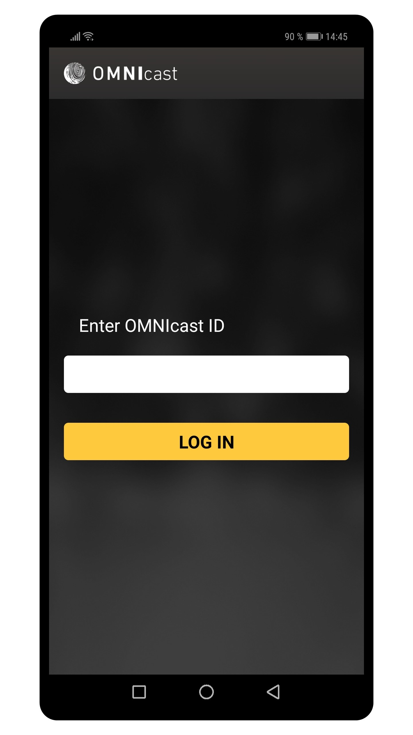 OMNIcast for Android - lisens