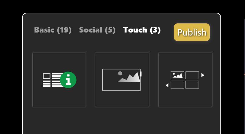 DatabeatOMNI 3 Touchwidgets