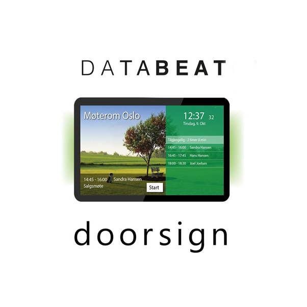 Databeat-Doorsign-meetingroom-screen
