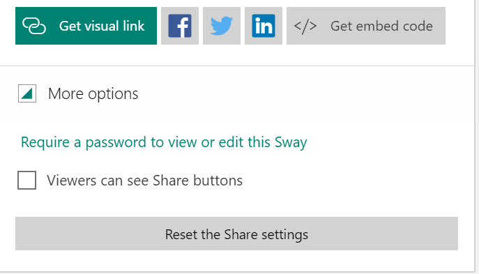 sway share link