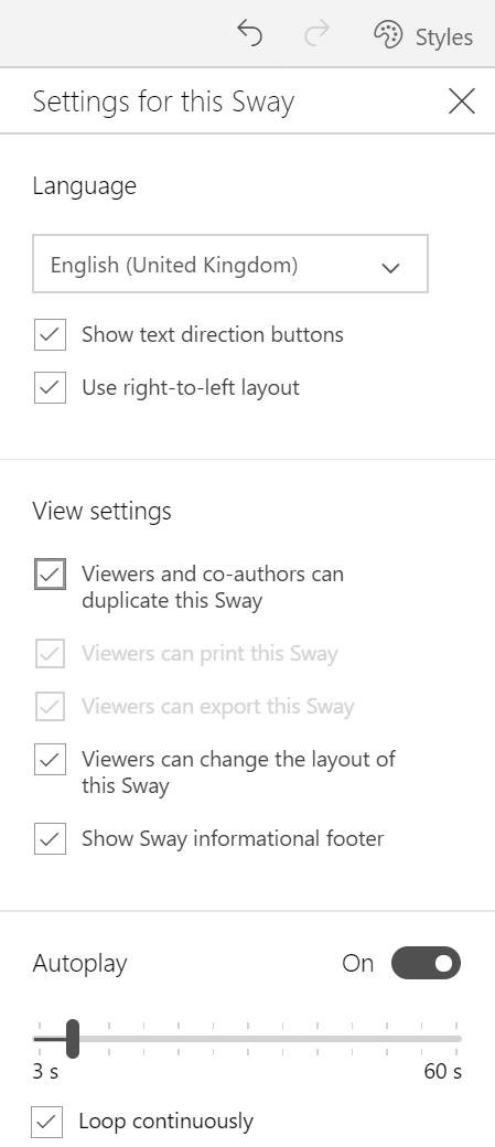 sway widget link