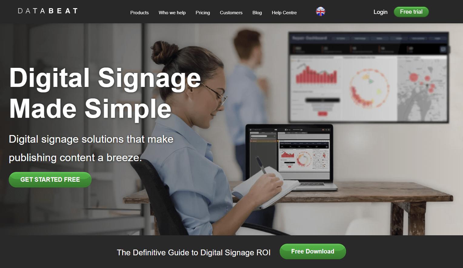 databeat homepage