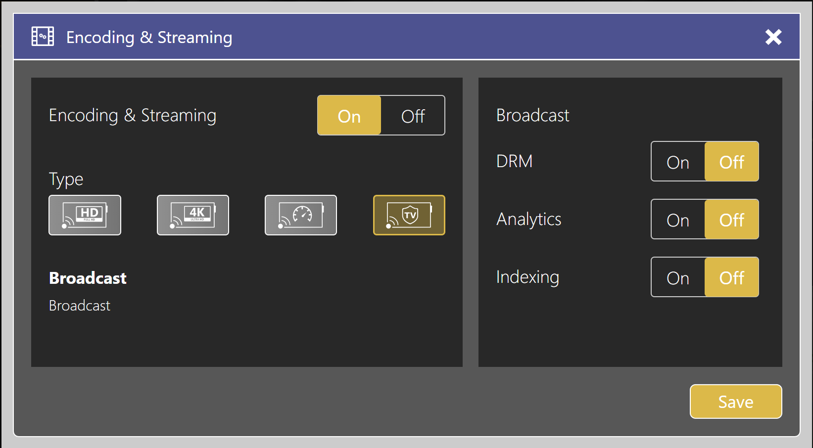 Encoding and streaming edit databeat