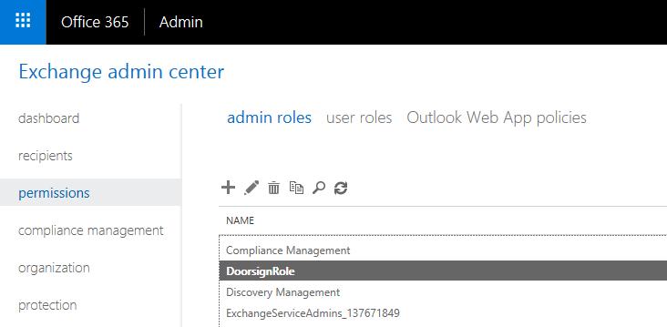 office365_Doorsign_role